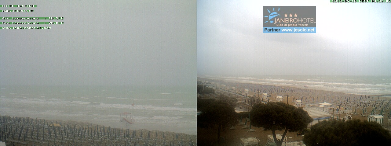 Jesolo webcam - Jesolo, Veneto webcam, Venetia, Venice